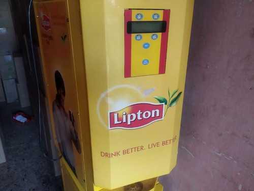 Lipton Tea Coffee Vending Machine At