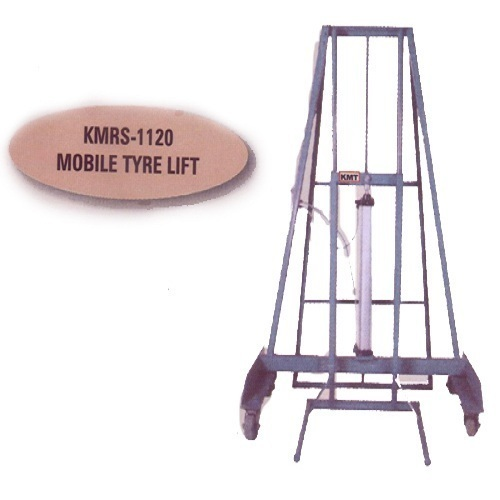Pneumatically Operated Mobile Tyre Lift