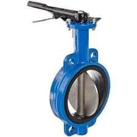 CI Butterfly Valve With SS304 Disc