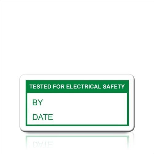 Electrical Safety Label