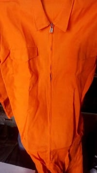 Orange Color Boiler Suit