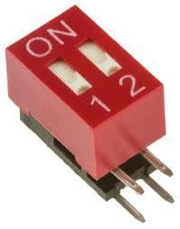 Right Angle Dip Switch