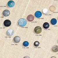 Round Shape Metal Buttons