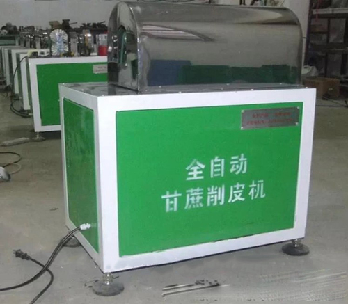 High Efficient Sugarcane Peeling Machine