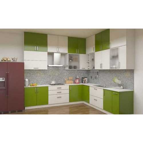 Green Attractive Modular Kitchen Cabinets At Price Range 15000 00 150000 00 Inr Piece In Coimbatore Id 6261451