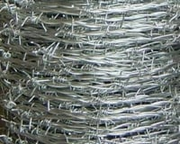 Corrosion Resistant Barbed Wire