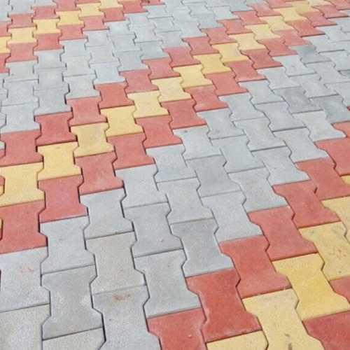 Multicolor Matt Paver Floor Blocks