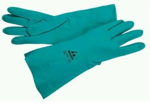 Nitrile and Rubber coated Garden Gloves