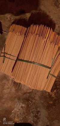 Raw Colorful Incense Sticks