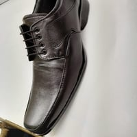 Mens Leather Black Shoes