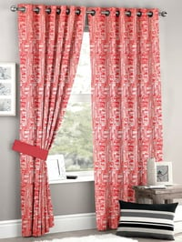 Printed Polyester Window Curtain