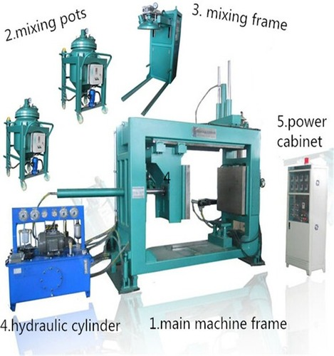 Epoxy Resin Insulation Components Apg Clamping Machine