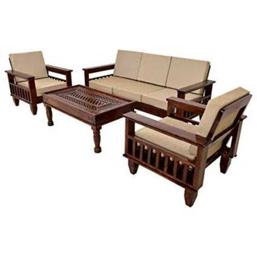 Comfortable Wooden Sofa Set