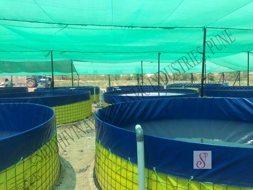 Round Fish Faming Tank