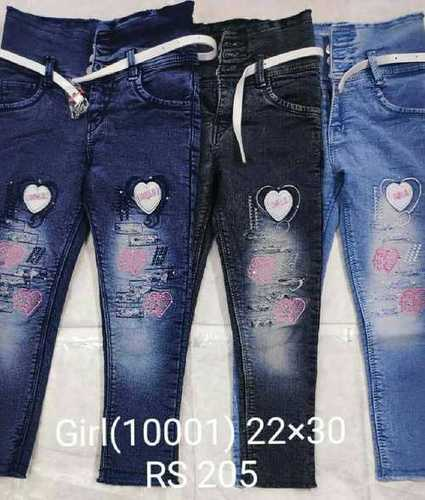 Latest Fashion Girls Jeans Age Group: <16 Years, Price 2000 to 500  INR/Piece   ID: 6266016