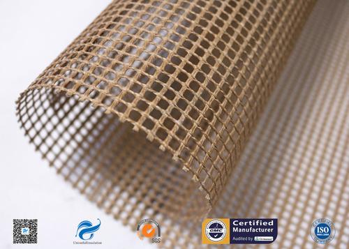 Non-Stick PTFE Coated Fiberglass Open Mesh Conveyor Belt for Food Drying