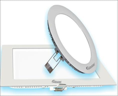 Square and Round 8W LED Panel Light