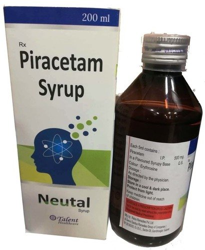 Piracetam Syrup 200 Ml Certifications: Who-Gmp