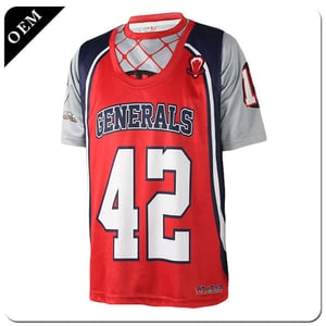 2020 Custom Sublimation Youth Teamheat-Printed Fans Lacrosse Uniforms