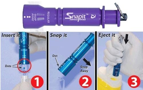 Ampoule Cutter Cum Opener