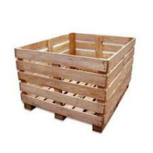 Heavy Duty Rubber Wood Crates