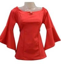 Ladies Designer Cotton Top