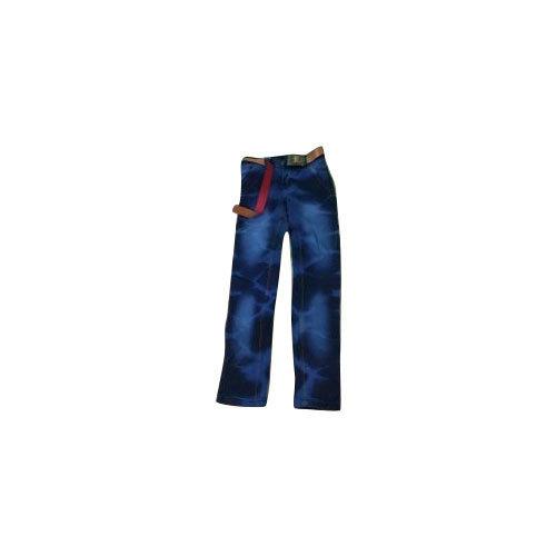 Stretchable Kids Blue Jeans