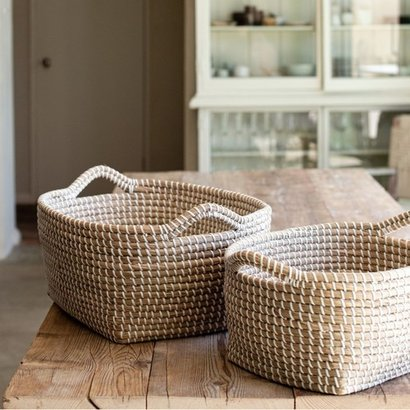 Natural Handmade Environmental Protection Woven Storage Basket