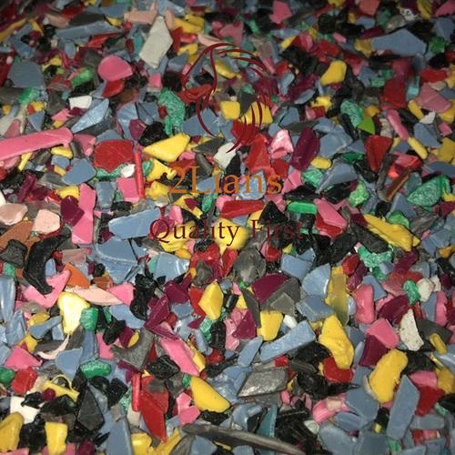 PP Mix Color Regrind Scrap Plastic Recycle