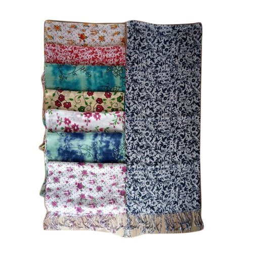 Ladies Rayon Printed Stole