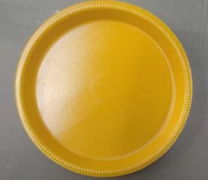 Round Foam Disposable Plate