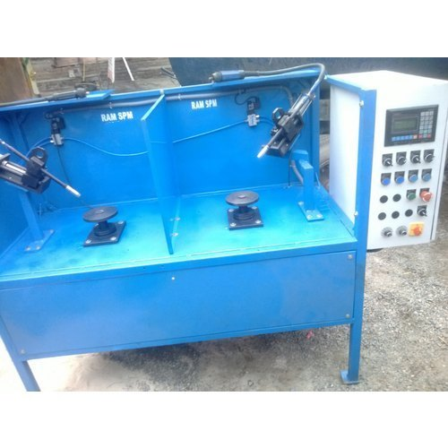 Double Station Rotary Welding SPM