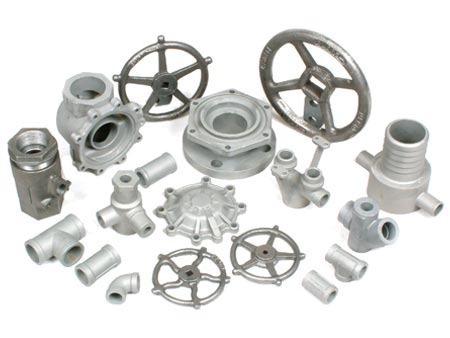 Aluminium Silver Valve Casting