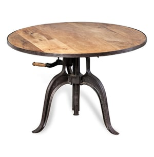Classic Height Adjustable Crank Table