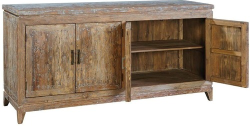 Classic Solid Wood Rustic Night Stand