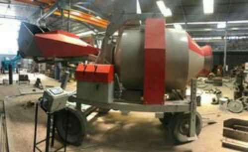 Diesel Operated Weber Revers Drum Mixer