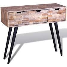 Traditional Distress Console Table