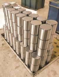 Large Diameter Cylindrical Rollers