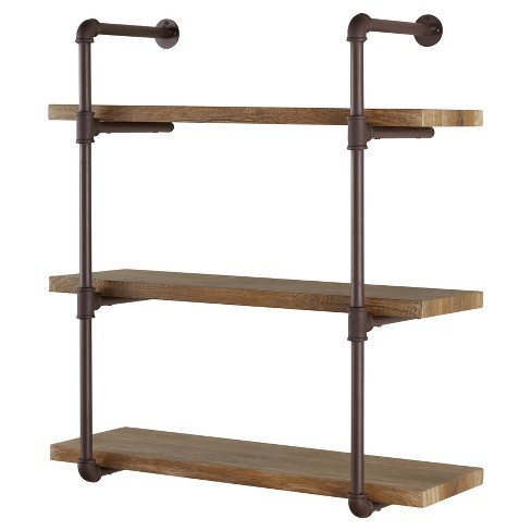 Traditional Iron Rack With Wooden Top