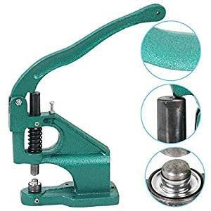 Eyelet And Snap Button Machine