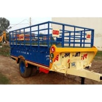 Painted Heavy Duty Agriculture Trolley