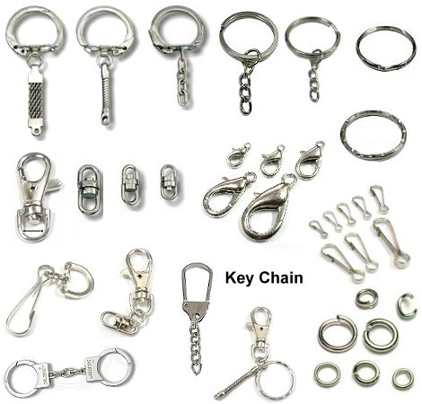 Personalized Key Chain Ring