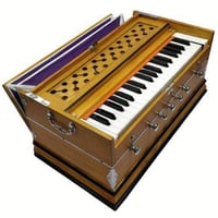 Smoothly Work Musical Wooden Harmonium