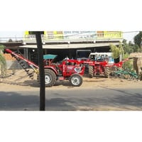 Tractor Operated Pole Erection Machine