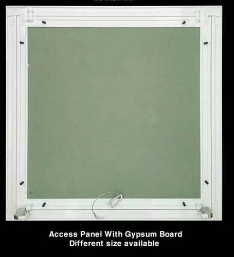 Access Panel With Gypsum Board