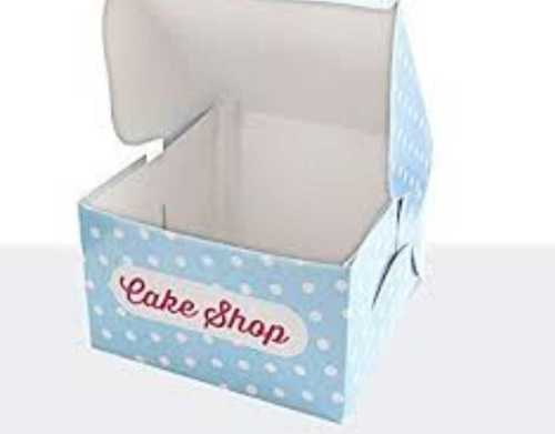 Printed Cake Packaging Box Size: Customized