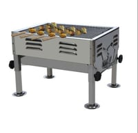 Stainless Steel Mobile Barbeque
