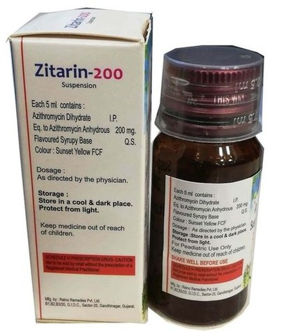 Azithromycin Oral Suspension Certifications: Who-Gmp