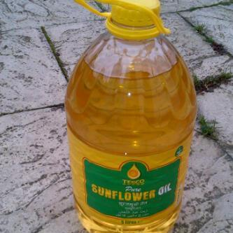 Natural Refined Sunflower Oil