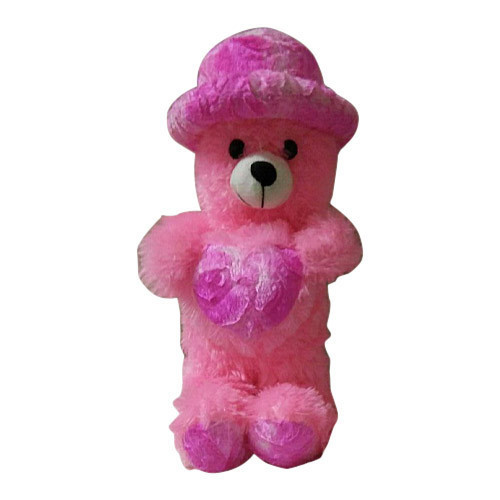 Pink Teddy Bear With Hat